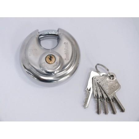 DoubleLock Discusslot inclusief 5 sleutels