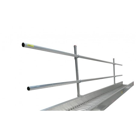 Leuning werkbrug 8 meter