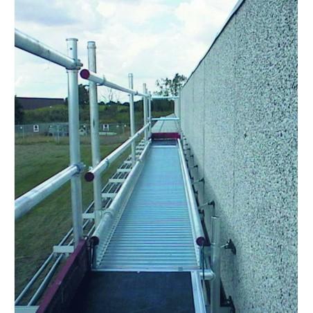 Werkbrug 8 meter compleet met inhanghaken