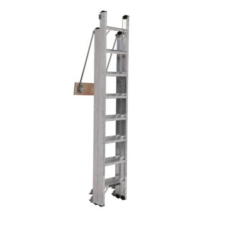 De-Luxe stairway loftladder