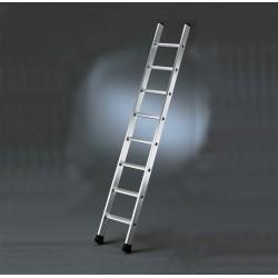 Magazijnladder met 11 traptreden