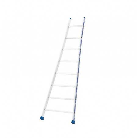 Enkele ladder met uitgebogen bomen (12 sporten)