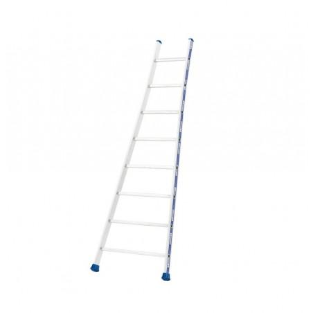 Enkele ladder met uitgebogen bomen (14 sporten)