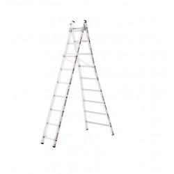 Reformladder 1242 met uitgebogen ladderbomen 2x8 sporten